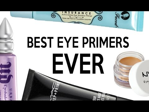 MY FAVOURITE EYE PRIMERS!!!!