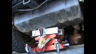 Jeep CJ7Gas Tank removal and Install