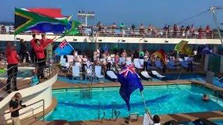 Christmas Cruise 2015: Dubai - Khor Fakan - Mascat - Abu Dhabi