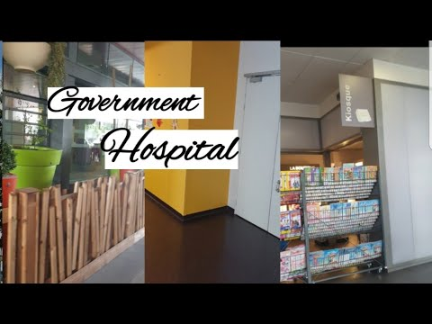 Government hospital in france/france hospital/vlog in tamil