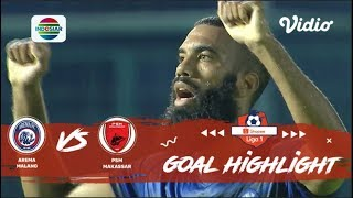 Arema Malang (2) vs (0) PSM Makassar - Goal Highlight | Shopee Liga 1