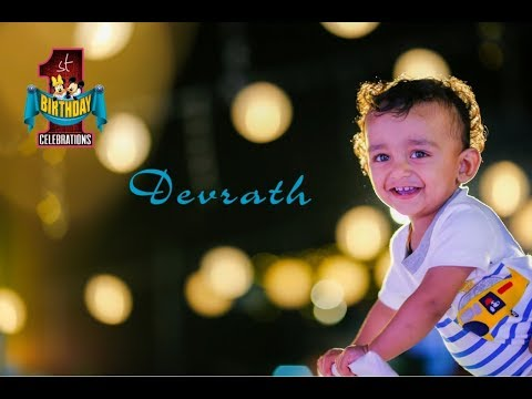 Devrath 1st Birthday Celebrations