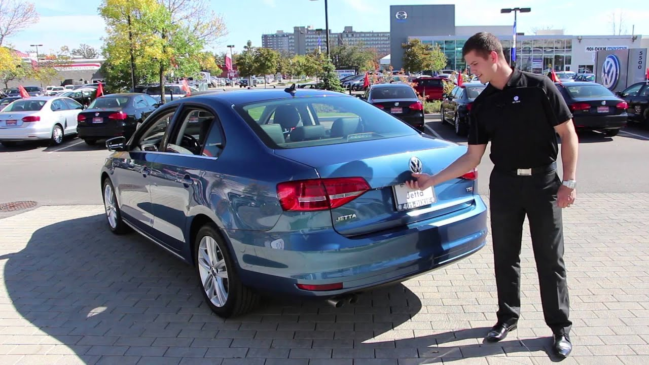 401 Dixie Volkswagen >> 2015 VW Jetta Highline Review - YouTube