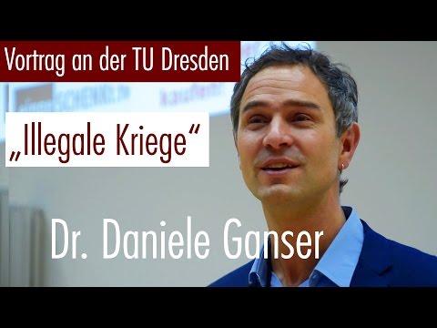 """Illegale Kriege gegen Afghanistan"", Dr. Daniele Ganser in Dresden, 01.11.2016"