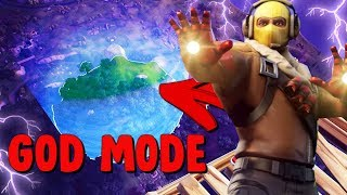 GOD MODE FLYING GLITCH AVENGERS x FORTNITE LTM BATTLE ROYALE! WIN EVERY GAME!