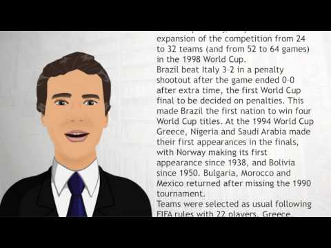 1994 FIFA World Cup - Wiki Videos