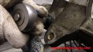 видео Подтягивание рулевой рейки на Киа Рио