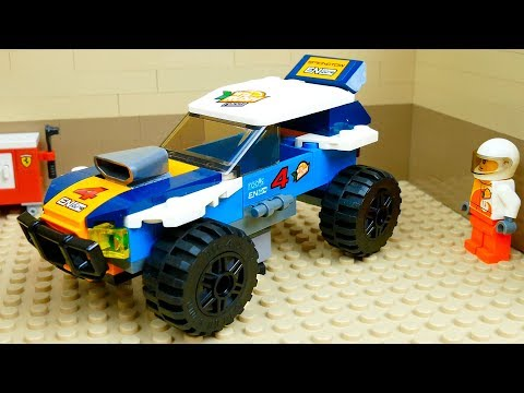 Garage for building cars. Lego Cars  Compilation