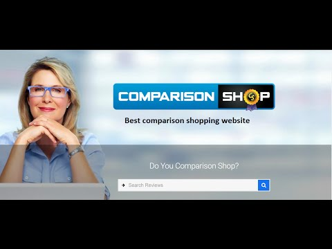 Best Comparison Shopping Website - ComparisonShop.com