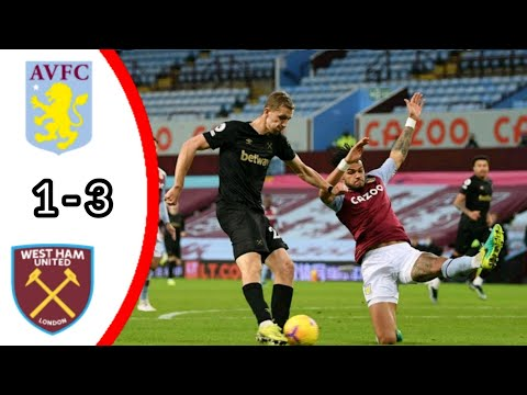 ASTON VILLA FC VS WEST HAM UNITED, 1 – 3/ ALL GOALS AND EXTENDED HIGHLIGHTS/ PREMIER LEAGUE