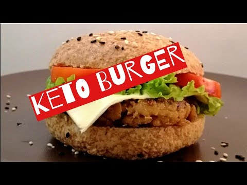 burger-buns-and-tuna-cheese-burger-|-low-carb---dirty-keto-diet-meals