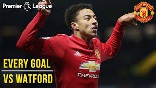 EVERY Premier League Goal v Watford at Vicarage Road! | Watford vs Manchester United