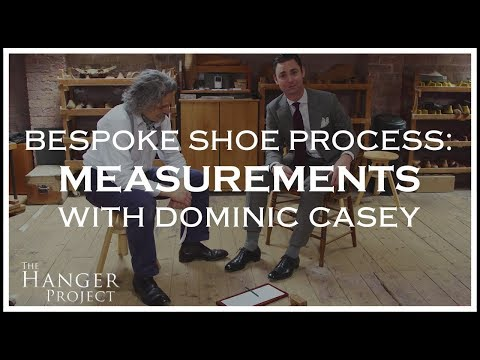 Bespoke Shoe Making Process: Measurements | By Dominic Casey