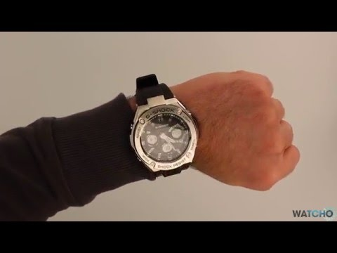 WatchO.co.uk - G-Shock Steel Radio Solar Watch GST-W110-1AER | Unboxing & Close Look