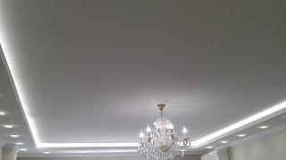 Тканевые натяжные потолки для зала, компания «Строй Сервис»