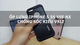Ốp lưng iPhone 5 5s 5se NX chống sốc kiểu vali - Đồ Chơi Di Động .com