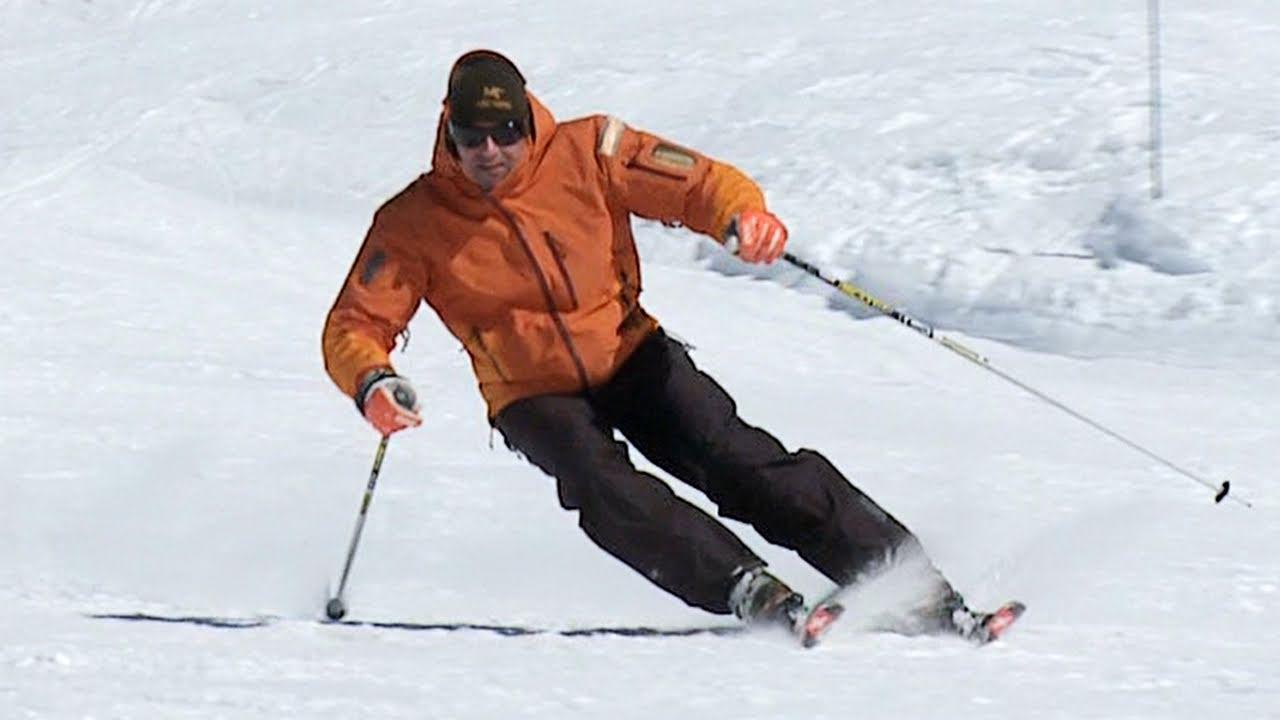 Carving ski lesson youtube