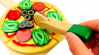Melissa and Doug Pizza Counter Toy Play Set Learn Colours Counting and More for Kids
