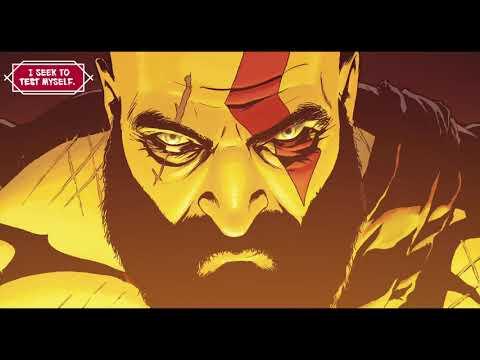 Comic Book #1 - God of War Digital Comic Issue 0 PS4