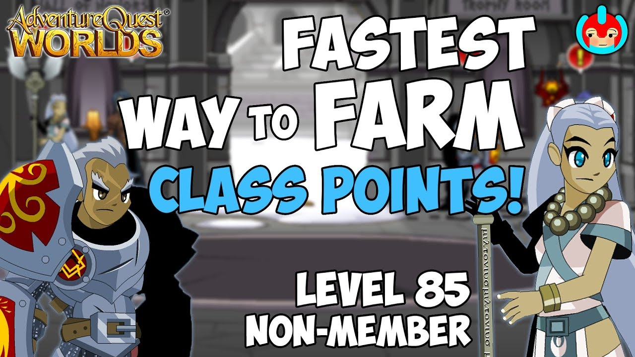 ~AQW~ FASTEST WAY TO FARM CLASS POINTS! || NON MEMBER!!