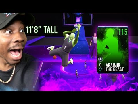 115 OVR ALIEN DUNKING IN OUTER SPACE! (Spaceball) NBA Live Mobile 19 Season 3 Ep. 128