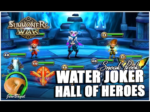 SUMMONERS WAR : Sian the Water Joker Hall of Heroes Sneak Peek (China Server)