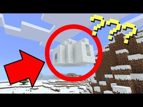 ✔️ FLOATING IGLOO SEED! - Minecraft Pocket Edition 1 0 2