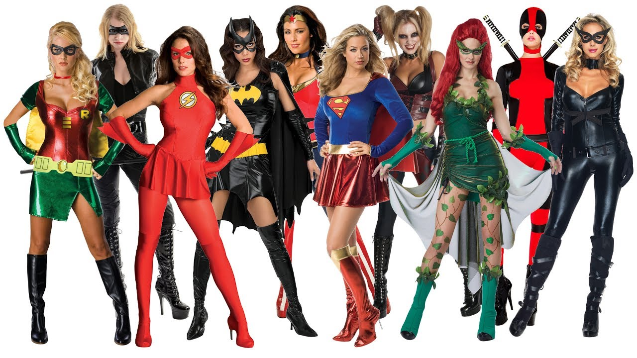 10 Best Superhero Halloween Costume Ideas for Women  sc 1 st  YouTube & 10 Best Superhero Halloween Costume Ideas for Women - YouTube