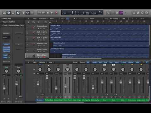 Drake Ft. Sampha - 4422 Instrumental (Logic Pro X)