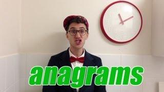 Eat Tea - Anagrams - Mr. Palindrome's Kids Vlog #7