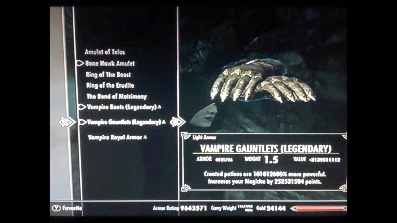 Skyrim Dawnguard HYBRID How to become a Vampire Lord/Werewolf ...