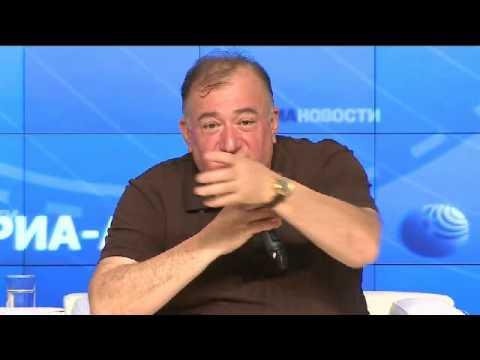 Олимпийские встречи РИА Новости. Шаварш Карапетян и другие (18.06.2013)