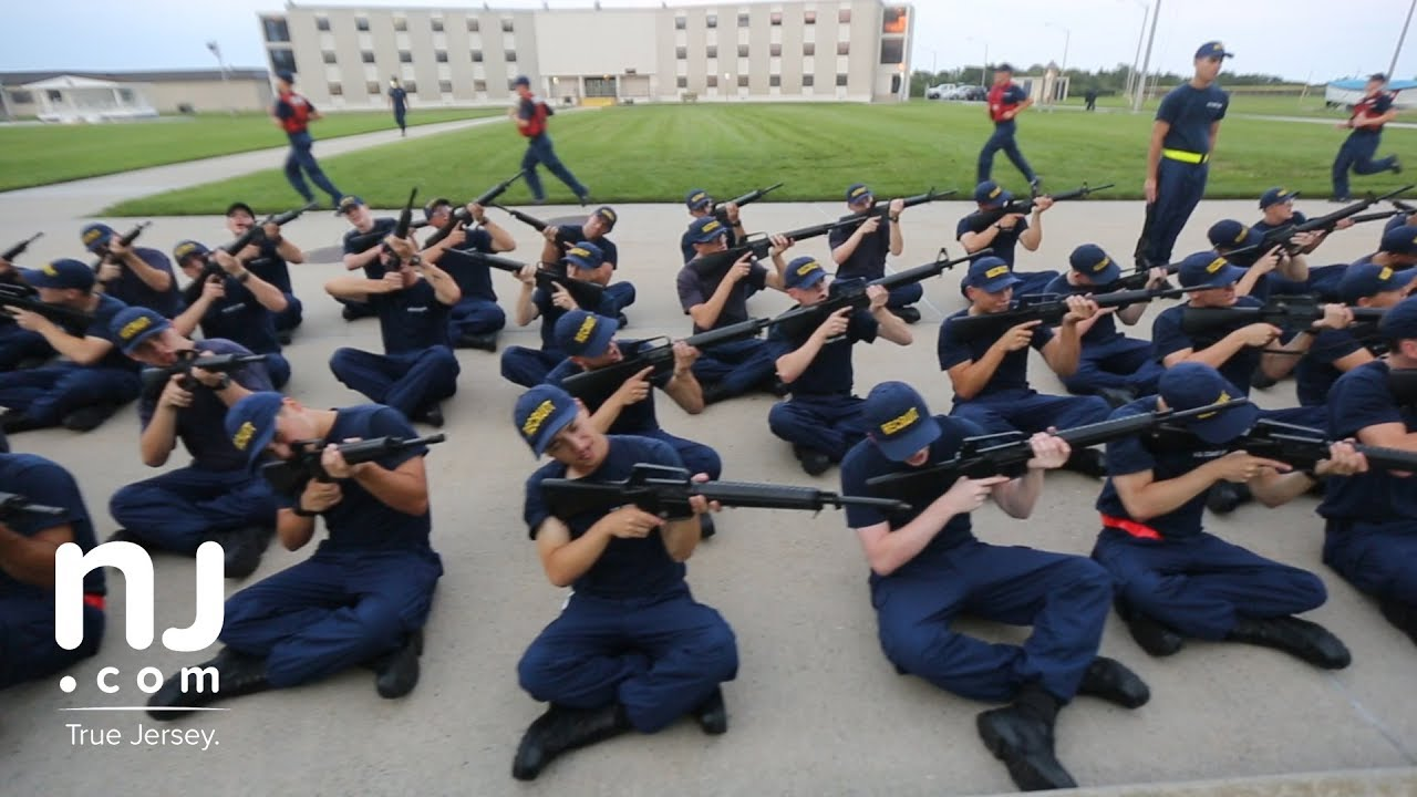 Image result for Inside look at Coast Guard boot camp in Cape May