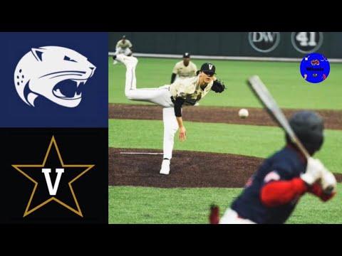 South Alabama vs #1 Vanderbilt (Game 1) | 2020 College Baseball Highlights