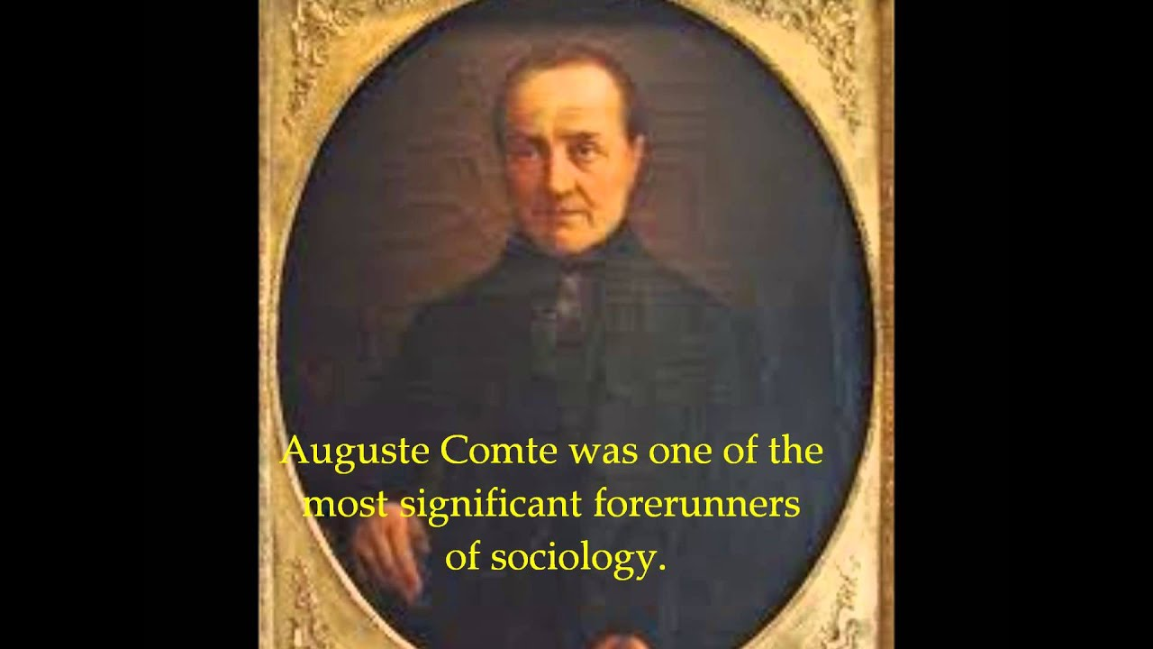 auguste comte brief biography of prophet