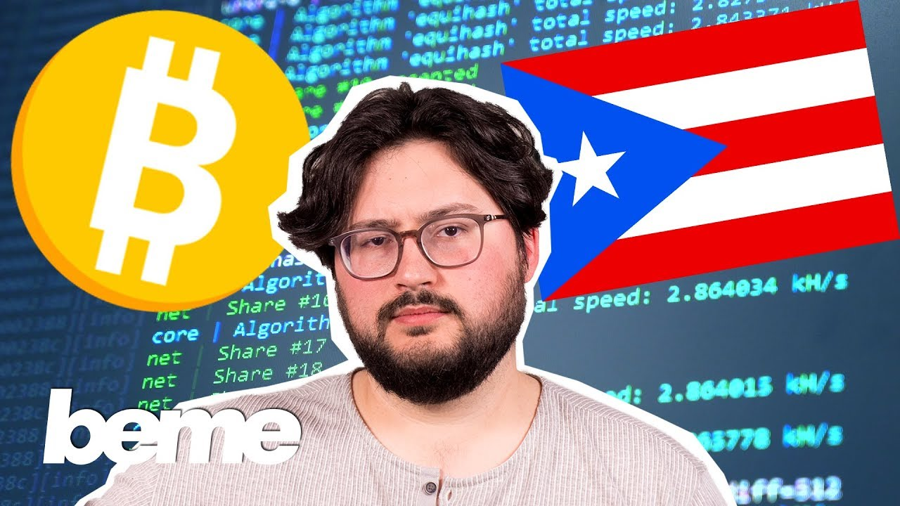Can cryptocurrency save Puerto Rico?
