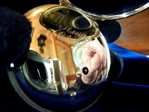 Reuge musical pocket watch with automata (how to operate it)