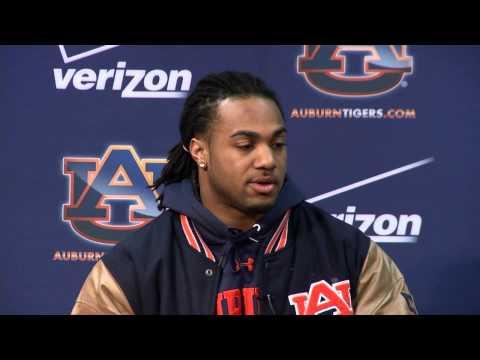 Auburn FB Running Back Tre Mason makes it official