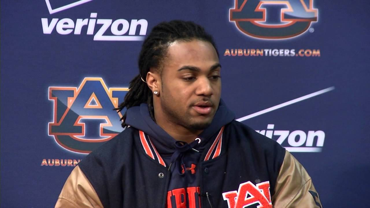Auburn FB Running Back Tre Mason makes it official - YouTube