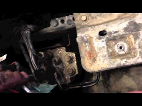 Removing the body on a Ford F250 350 450 550 Body off
