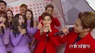 MinExo Interactions (Kai , D.O, Xiumin,Chen , Suho)