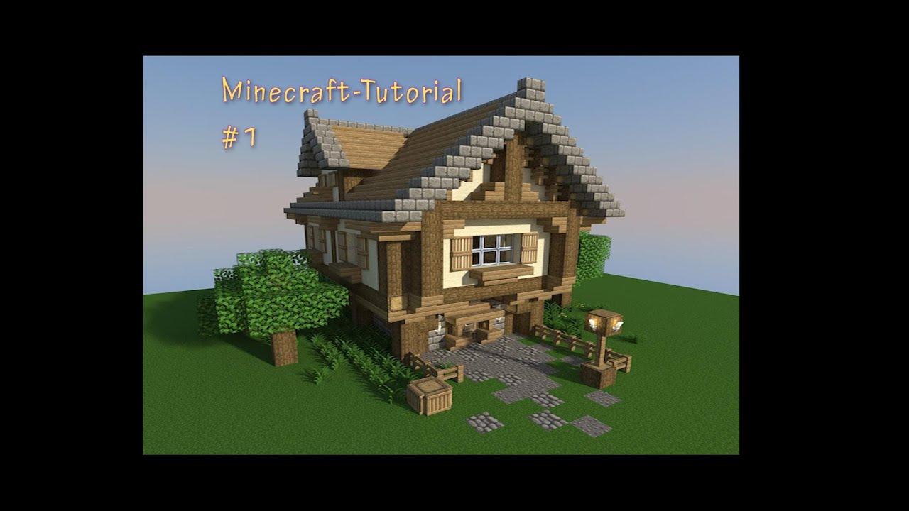 Tutorial altmodische villa minecraft 1 schwonnek