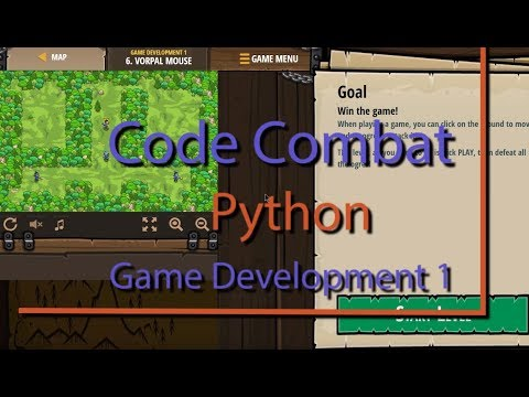 CodeCombat Vorpal Mouse Level 6 Python Game Development Tutorial thumbnail