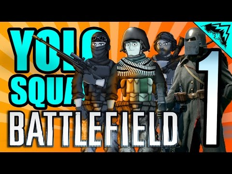 "TANK SQUAD GOALS (ft. NeebsGaming, Thick44, Appsro) ""YOLO on the Battlefield 1"" #87 Serious Player"