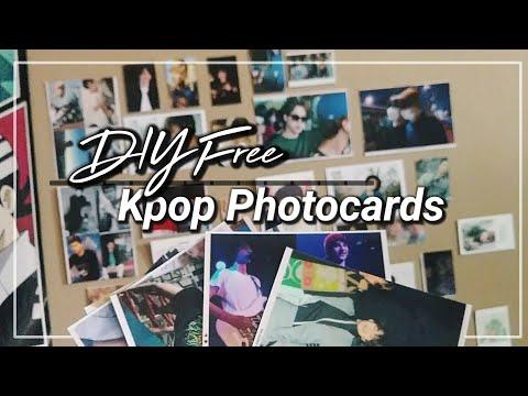DIY Free Kpop Photocards ( Literally $0 )