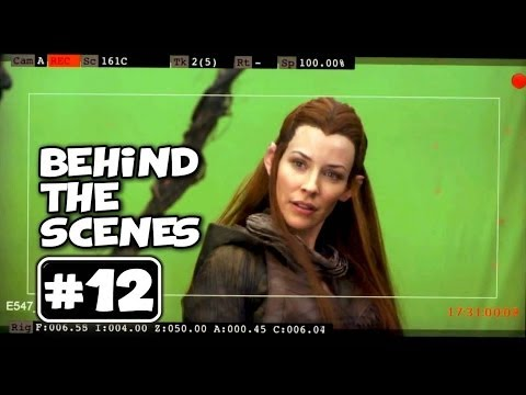Behind the Scenes of THE HOBBIT 2 : Production Video # 12