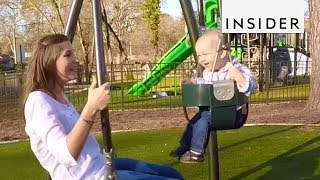 This Swing Helps You Bond With Your Child