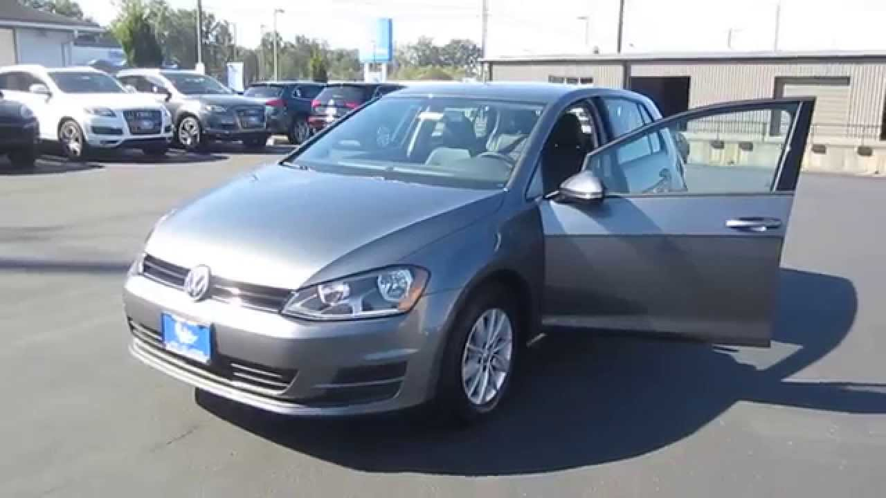 2015 Volkswagen Golf Platinum Gray Metallic Stock