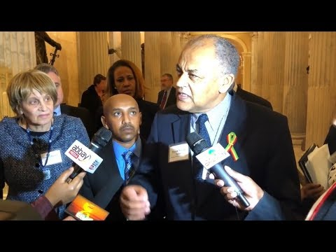 Activists pushed for passage of Ethiopian Human Rights bill in the US Congress