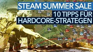 Hardcore-Strategie im Steam Summer Sale - Spar-Tipps vom Experten